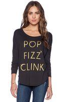 Junk Food Pop Fizz Clink Long Sleeve Shirt - Lyst