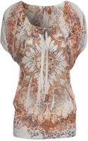 Jane Norman Animal Print Gypsy Top - Lyst