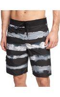 Adidas Water Stripe Eboard Swim Shorts - Lyst