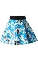 Fausto Puglisi Palm Tree Skirt - Lyst
