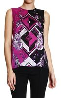 Emilio Pucci Top Woman - Lyst