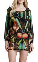 Jean Paul Gaultier Butterflyprint Coverup Tunic - Lyst