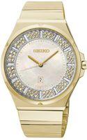 Seiko Womens Goldtone Stainless Steel Bracelet Watch 36mm Sxdg14 - Lyst