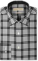 Michael Kors Michael Black and White Check Dress Shirt - Lyst
