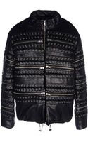 Hba Hood By Air Leather Outerwear - Lyst