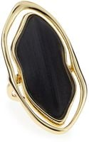 Alexis Bittar Framed Liquid Metal Lucite Ring - Lyst