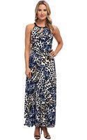 Calvin Klein Keyhole Maxi Dress - Lyst