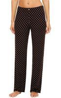 Ellen Tracy Polka Dot Lounge Pants - Lyst