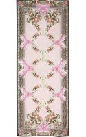 Givenchy Paradise Flowers Silk-organza Scarf - Lyst