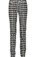 Etoile Isabel Marant Iti Dogtooth Finecorduroy Skinny Jeans - Lyst