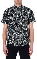 Carhartt Marlow Lotus-print Cotton Shirt - Lyst