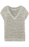 Diane Von Furstenberg Zitaanne Cottonblend Sweater - Lyst