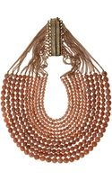 Rosantica Brown Heliolite Rassia Necklace - Lyst