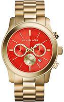 Michael Kors Ladies Runway Chronograph Watch - Lyst