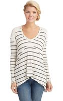 Free People Striped Sunset Park Top - Lyst