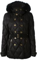 Burberry Brit Doublebreasted Fitted Padded Jacket - Lyst
