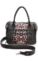 McQ by Alexander McQueen The Yt Bag White Leopard - Lyst