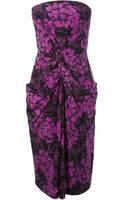 Bottega Veneta Floral Jacquard Dress - Lyst