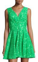 Alberto Makali Floral-lace Sleeveless Dress - Lyst