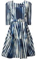 Samantha Sung Printed Dress - Lyst