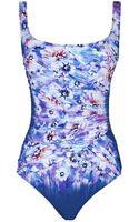 Gottex Secret Garden Swimsuit - Lyst