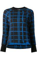 Kenzo Check Sweatshirt - Lyst