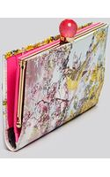 Ted Baker Wallet  Pretty Trees Print Matinee Continental - Lyst