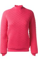 Christopher Kane Fuchsia Cashmere Top - Lyst