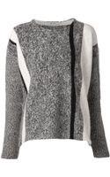 T By Alexander Wang Boxy Pullover Sweater - Lyst