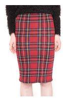 Pixie Market London Plaid Pencil Skirt - Lyst