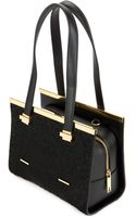 Ted Baker Textured Metal Tote - Lyst