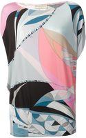 Emilio Pucci Pattern Print Top - Lyst