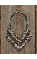 Free People Vintage Fringe Bead Necklace - Lyst