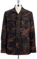 Michael Kors Camouflage Anorak Jacket - Lyst