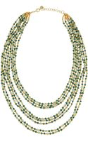 Nakamol Beaded Multistrand Tiered Necklace - Lyst