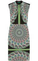 Etro Printed Washedsilk Dress - Lyst