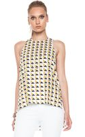Sass & Bide Minds Of The Beautiful Poly Top - Lyst
