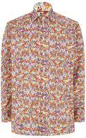 Eton Floral Shirt - Lyst