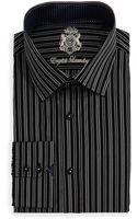 English Laundry Long-sleeve Stripe Dress Shirt - Lyst