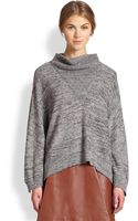 3.1 Phillip Lim Marled Mohair Cowlneck Sweater - Lyst