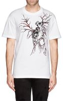 McQ by Alexander McQueen Screw and Heart Print T-Shirt - Lyst