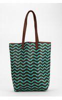 Baggu Baggu Allover Print Leather Tote Bag - Lyst