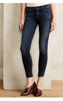 Mother Looker Ankle Fray Jeans - Lyst