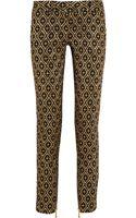Balmain Metallic Jacquard Pants - Lyst