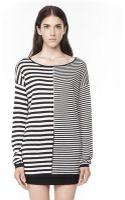 Alexander Wang Lightweight Long Sleeve Knit Sweater - Lyst