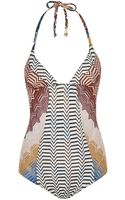 Missoni Mare Reversible Patchwork Swimsuit - Lyst