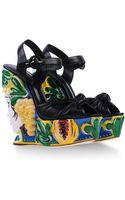 Dolce & Gabbana Wedge - Lyst