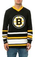 Mitchell & Ness The Boston Bruins Hockey Jersey - Lyst