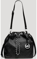 MICHAEL Michael Kors Shoulder Bag - Frankie Large Drawstring - Lyst