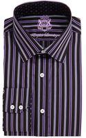 English Laundry Long-sleeve Ribbon-stripe Dress Shirt - Lyst